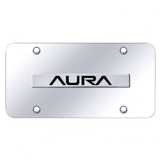 Autogold® - License Plate with 3D Logo