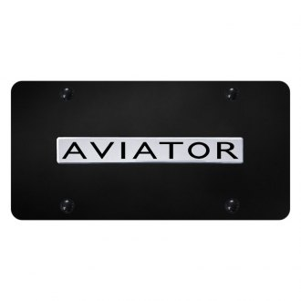 Autogold® - License Plate with Aviator Logo