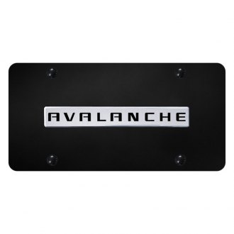 Autogold® - License Plate with Avalanche Logo