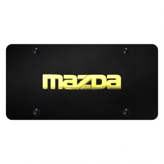 Autogold® - License Plate with Mazda Logo
