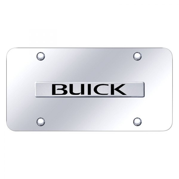 Autogold® - License Plate with Buick Logo