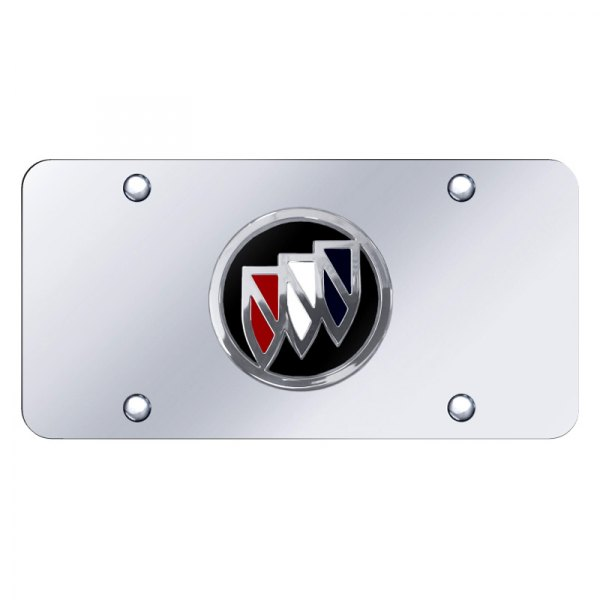 Autogold® - License Plate with Buick Emblem