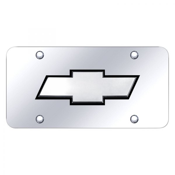 Autogold® - License Plate with Chevrolet New Logo