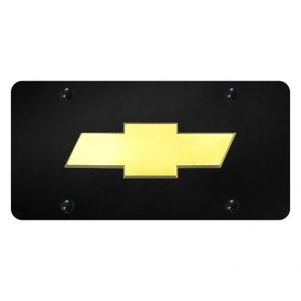 Autogold® - License Plate with 3D Chevrolet New Emblem