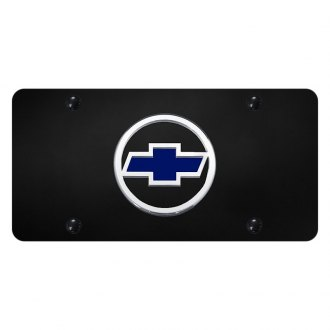 Autogold® - License Plate with 3D Chevrolet Emblem