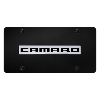Autogold® - License Plate with Camaro Logo
