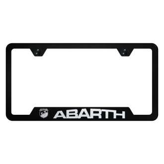 Autogold® - License Plate Frame with Laser Etched Abarth Logo