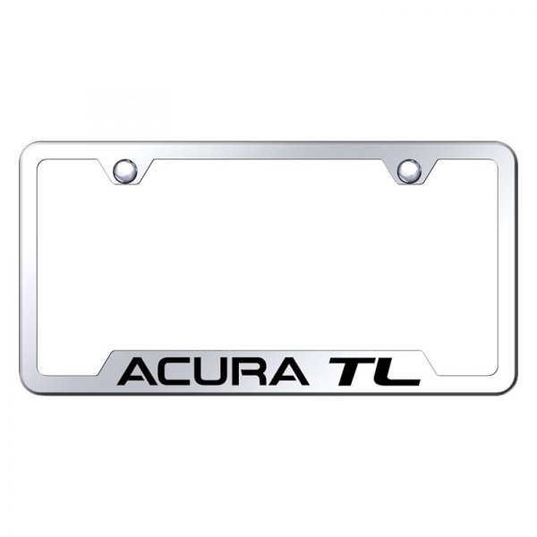 Chrome License Plate Frame With