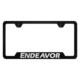 Autogold® - License Plate Frame with Laser Etched Endeavor Logo