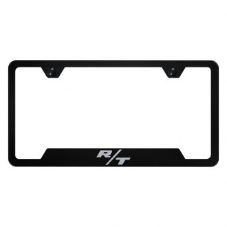 Autogold® - License Plate Frame with Laser Etched R/T Logo and Cut-Outs
