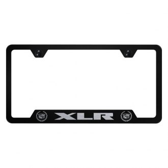 Autogold® - License Plate Frame with Laser Etched XLR Old Logo and Cut-Outs