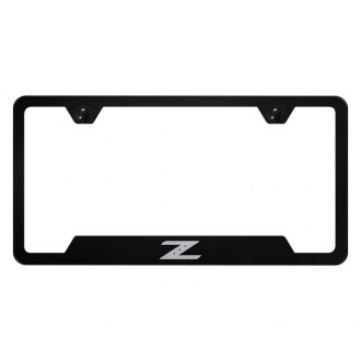 Autogold® - License Plate Frame with Laser Etched Z Logo and Cut-Outs