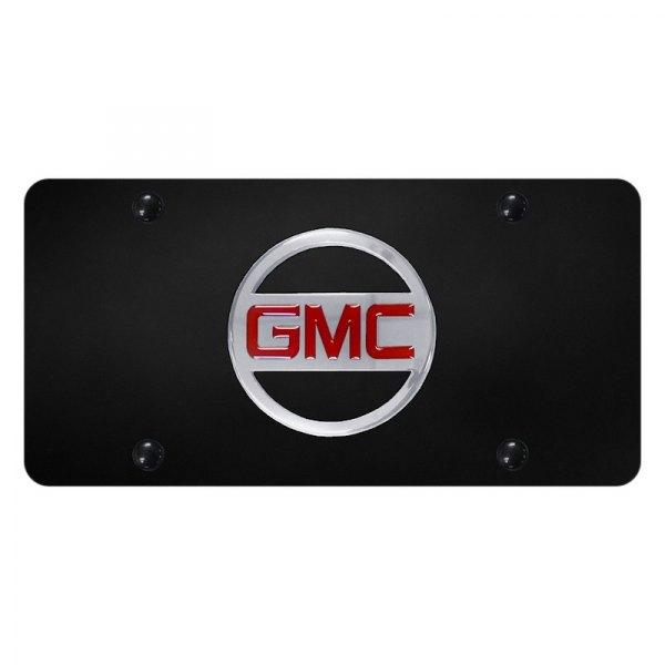 Autogold® - License Plate with 3D GMC New Emblem