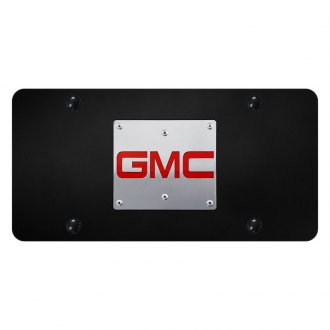 Autogold® - License Plate with 3D GMC New Emblem