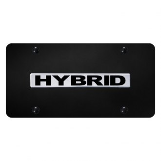 Autogold® - License Plate with Hybrid Logo