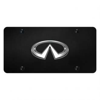 Autogold® - License Plate with Infiniti Emblem