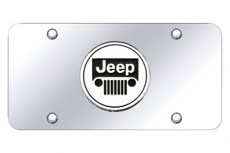 Autogold® - License Plate with Jeep Emblem
