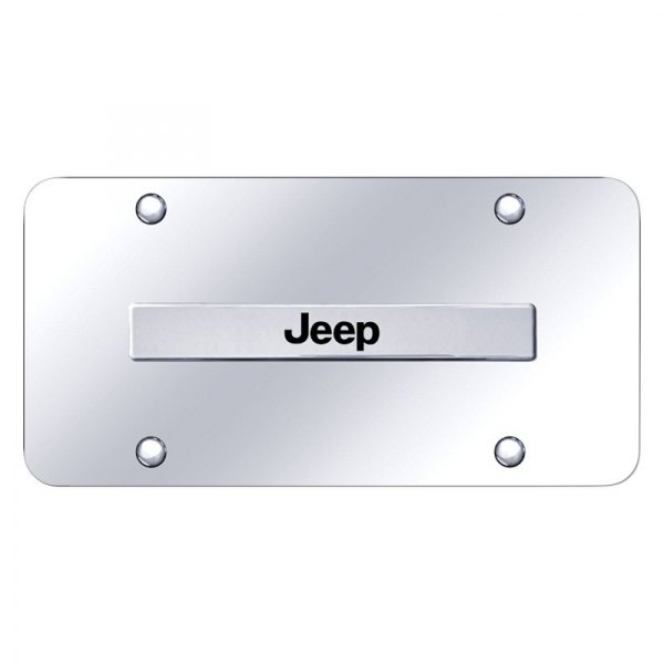 Autogold® - License Plate with Jeep Logo