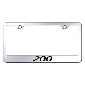 Autogold® - License Plate Frame with Laser Etched 200 Logo