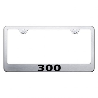 Autogold® - License Plate Frame with Laser Etched 300 Logo