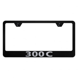 Autogold® - License Plate Frame with Laser Etched 300C Logo