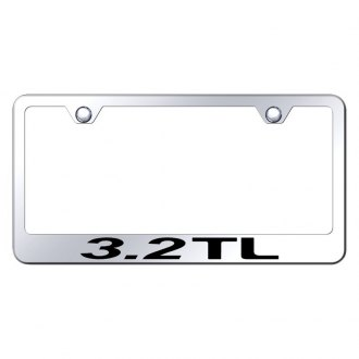 Autogold® - License Plate Frame with Laser Etched 3.2 TL Logo