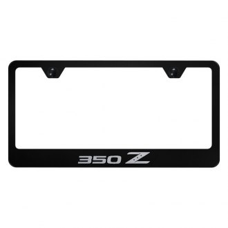 Autogold® - License Plate Frame with Laser Etched 350Z Logo