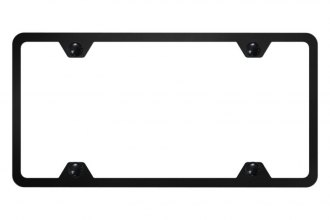 Autogold® - Slimline Plain 4-Hole License Plate Frame