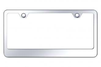 Autogold® - 2-Hole Bottom License Plate Frame