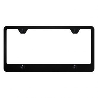 Autogold® - 4-Hole Bottom License Plate Frame