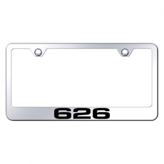 Autogold® - License Plate Frame with Laser Etched 626 Logo