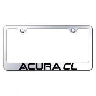 Autogold® - License Plate Frame with Laser Etched Acura CL Logo