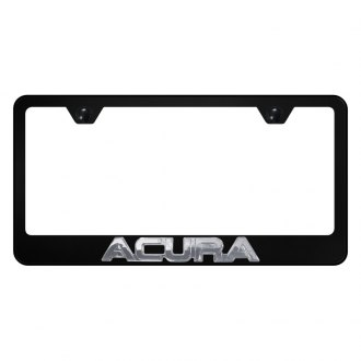 Autogold® - License Plate Frame with 3D Acura Logo