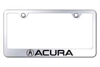 Autogold® - License Plate Frame with Laser Etched Acura Logo