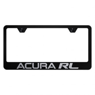 Autogold® - License Plate Frame with Laser Etched Acura RL Logo