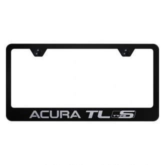 Autogold® - License Plate Frame with Laser Etched Acura TL Type S Logo