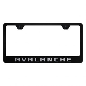 Autogold® - License Plate Frame with Laser Etched Avalanche Logo
