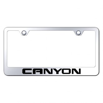Autogold® - License Plate Frame with Laser Etched Canyon Logo