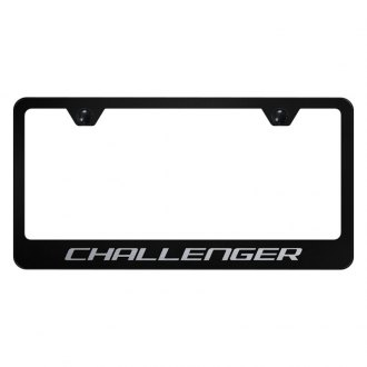 Autogold® - License Plate Frame with Laser Etched Challenger Logo