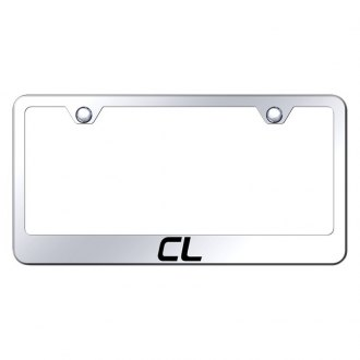 Autogold® - License Plate Frame with Laser Etched CL Logo