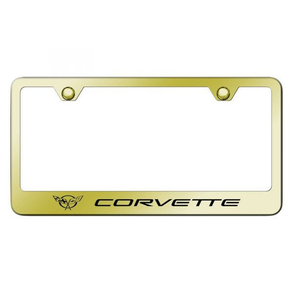 Car Licenses Plate Covers BlingBling Aluminum License Plates Frames with Screw Caps 2 Pcs 2 Holes Powder Coated Plate Cover Frame Shield Combo SCITOO 122446-5206-1049378231