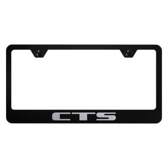 Autogold® - License Plate Frame with Laser Etched CTS Logo