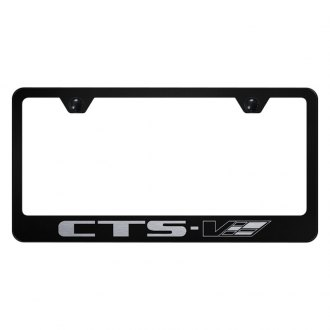 Autogold® - License Plate Frame with Laser Etched CTS-V Logo