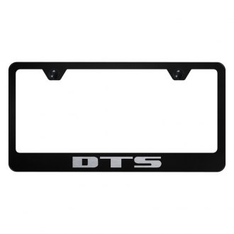 Autogold® - License Plate Frame with Laser Etched DTS Logo