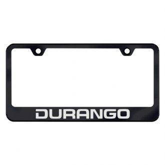 Autogold® - License Plate Frame with Laser Etched Durango Logo