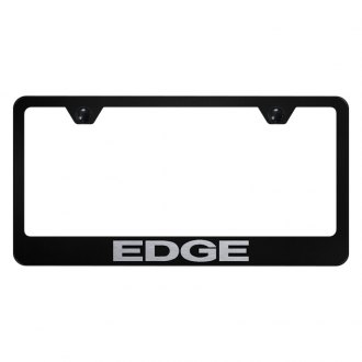 Autogold® - License Plate Frame with Laser Etched Edge Logo
