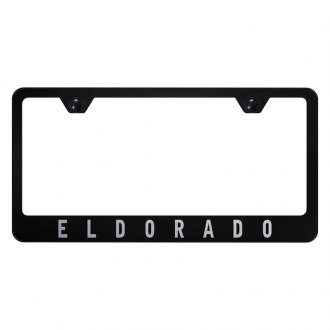 Autogold® - License Plate Frame with Laser Etched Eldorado Logo