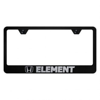Autogold® - License Plate Frame with Laser Etched Element Logo