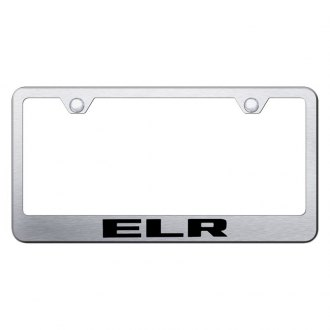 Autogold® - License Plate Frame with Laser Etched ELR Logo