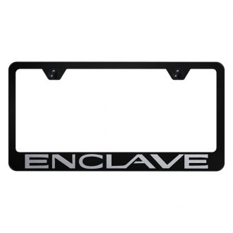 Autogold® - License Plate Frame with Laser Etched Enclave Logo